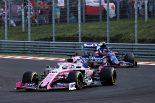 F1 | ペレスとアルボン、10位を巡る争いの接触について対立「ダメージを負ったし、不要な接触だった」