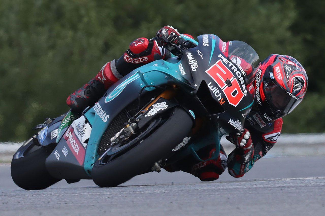 MotoGP:ブルノテストはクアルタラロがトップ。ロッシが2020年仕様のプロトタイプで走行