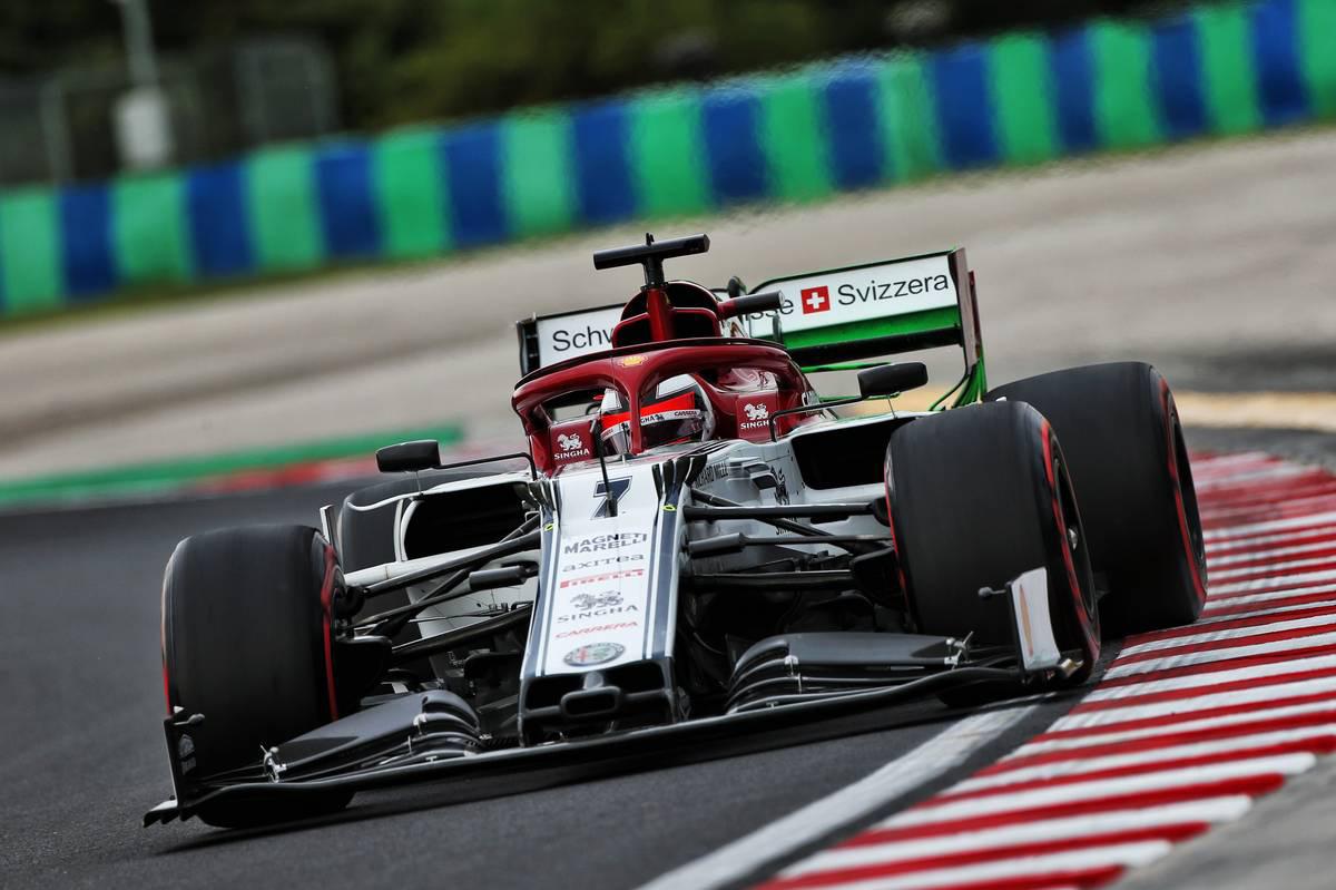 2019年F1第12戦ハンガリーGP キミ・ライコネン(アルファロメオ)