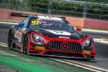 第9戦ヨンアムで優勝した97号車メルセデスAMG GT3