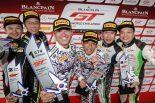 第10戦ヨンアムで2019年GT4ドライバーズチャンピオンを決めた木下隆之と砂子塾長