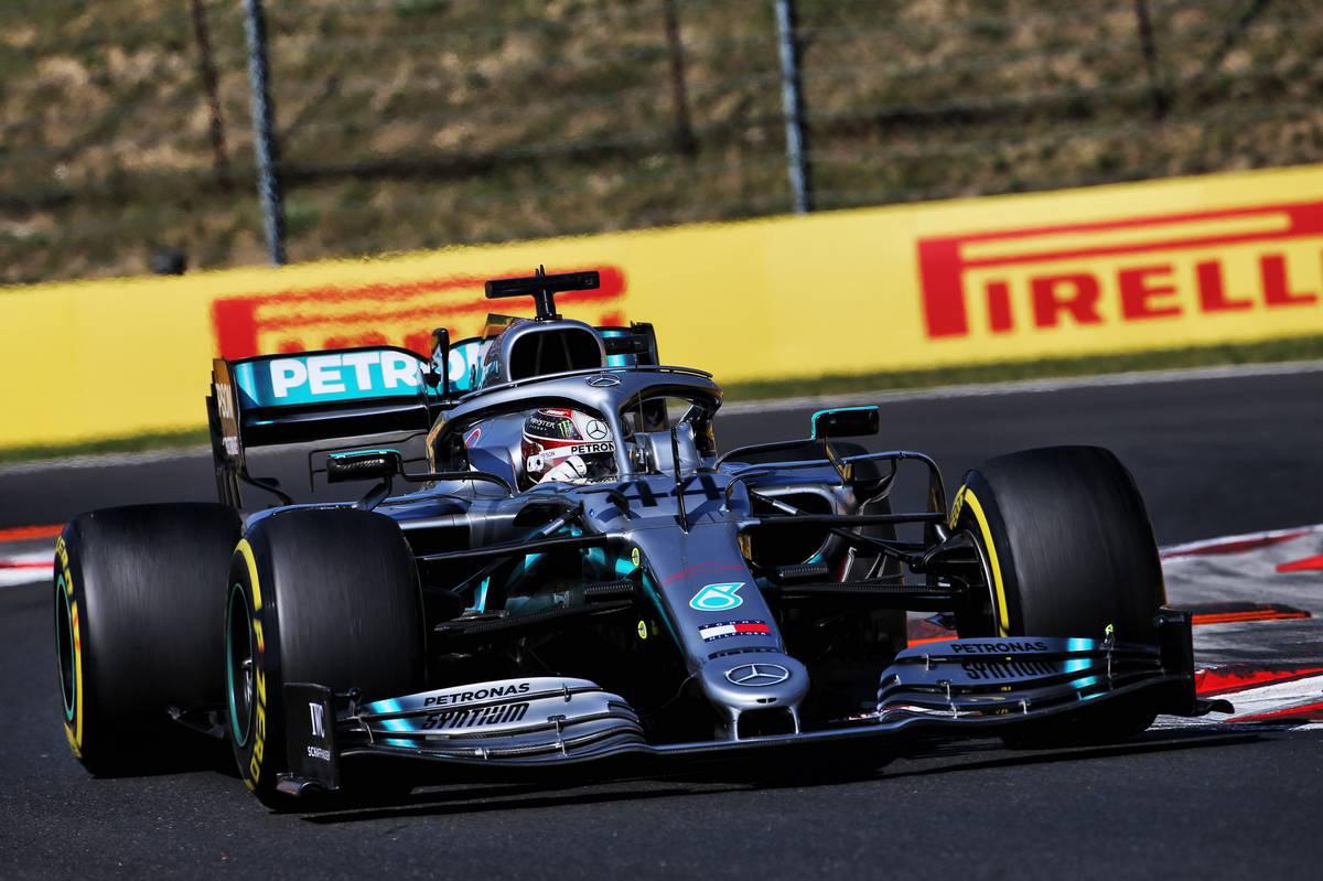2019年F1第12戦ハンガリーGP ルイス・ハミルトン(メルセデス)