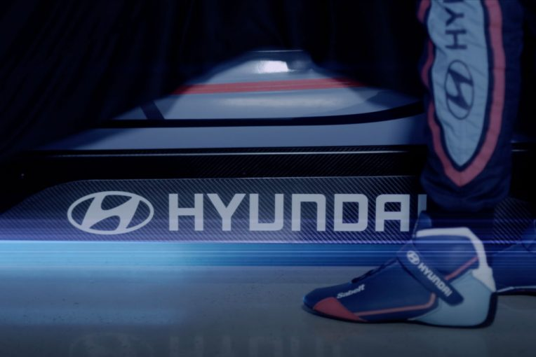 海外レース他   ヒュンダイ・モータースポーツ、同社初のフルEVマシンを開発中。9月フランクフルトショーで世界初公開