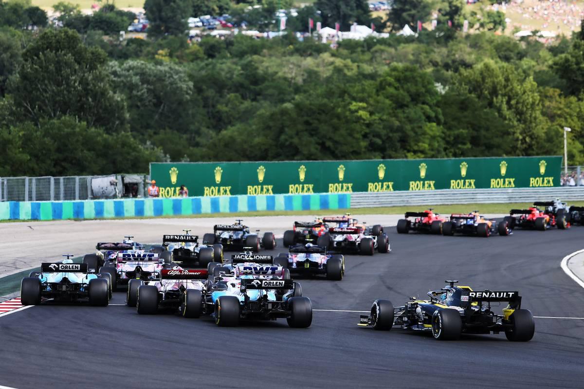 2019年F1第12戦ハンガリーGP ダニエル・リカルド(ルノー)