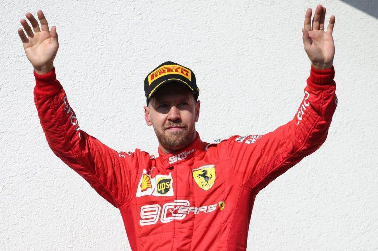 F1 | 「ゴミを置いていってはだめだ!」4度のF1王者ベッテルが見せた心遣いに、記者たちが賛同