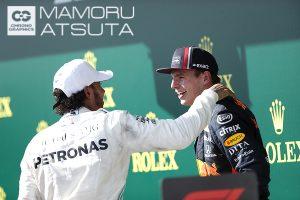F1 | 【ブログ】Shots!ふたりの表情がすべてを物語る。サーキット全体が歓声に包まれたF1ハンガリーGP