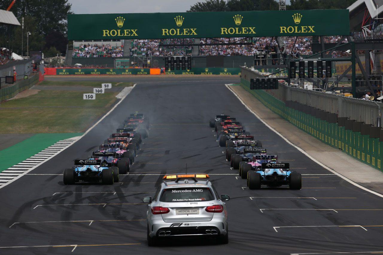2019年F1イギリスGPスタート
