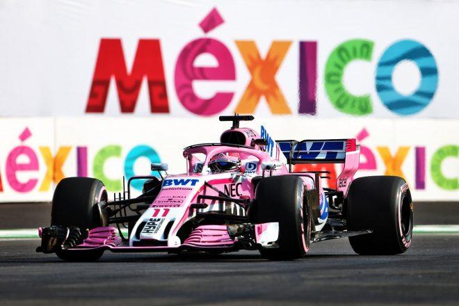 2018年F1メキシコGP セルジオ・ペレス