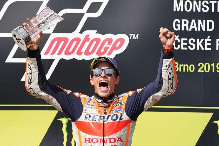 MotoGP | MotoGP:マルケス、チェコGP決勝前は「居眠りしてしまった」。ライバル圧倒し後半戦の緒戦終える