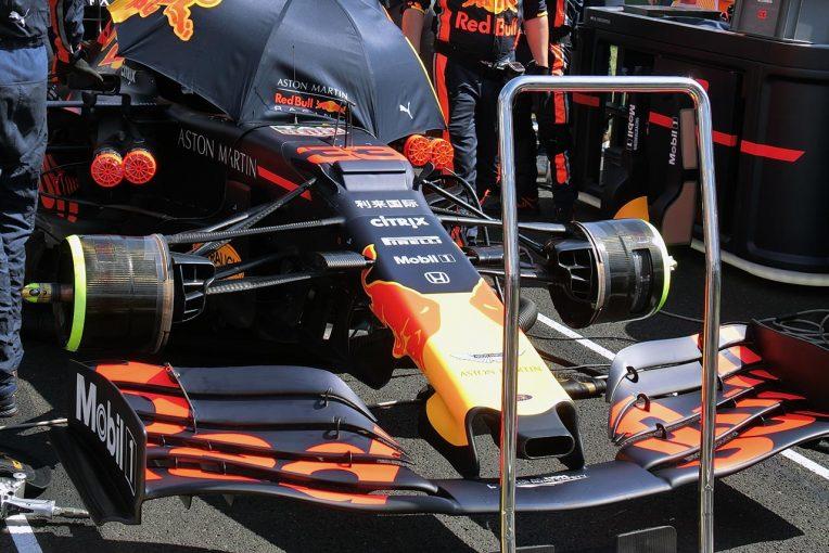F1   【津川哲夫の私的F1メカ】王者メルセデスを追い詰め始めたレッドブル・ホンダ。ハンガリーでの細かな足下のアップデート