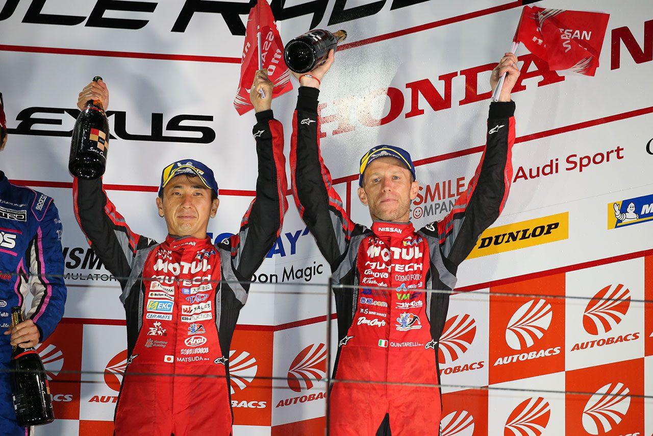 MOTUL GT-R松田「逃げたい時に逃げられなかったレース」/スーパーGT第5戦富士GT500会見