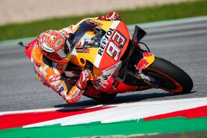 MotoGP | MotoGPオーストリアGP:マルケスが初日総合トップ。中上は2019年シーズン2度目のトップ5圏内につける