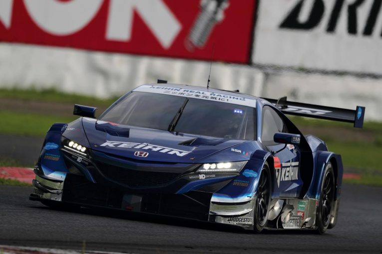スーパーGT | スーパーGT:SUGO公式テストはKEIHIN NSX-GTが初日の首位に。NSX勢がトップ4占める