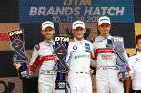 海外レース他   DTM第6戦ブランズハッチ:3度目のポール・トゥ・ウインでウィットマンがレース1を制す