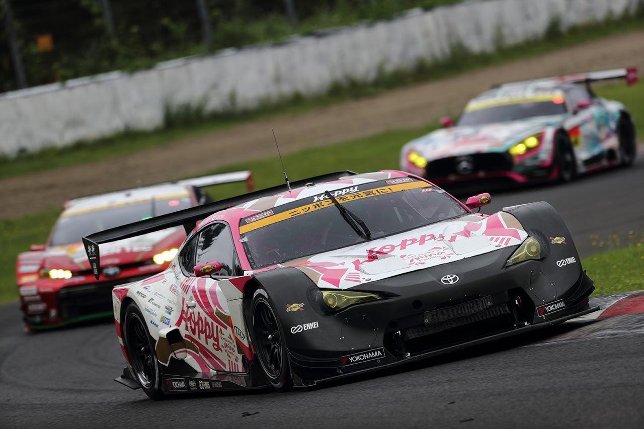 スーパーGT:SUGO公式テスト2日目はまたもKEIHIN NSX-GTが最速。GT300はHOPPY 86が首位