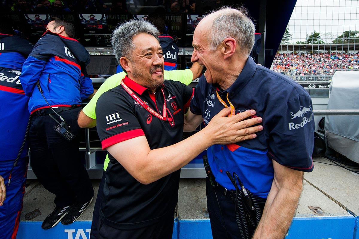 ホンダ山本雅史F1マネージングディレクター、トロロッソのフランツ・トスト代表