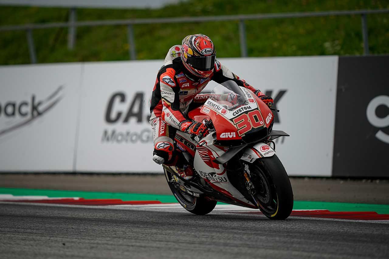 MotoGPオーストリアGP:苦しみながら11位フィニッシュの中上「フロントに履いたハードが機能しなかった」