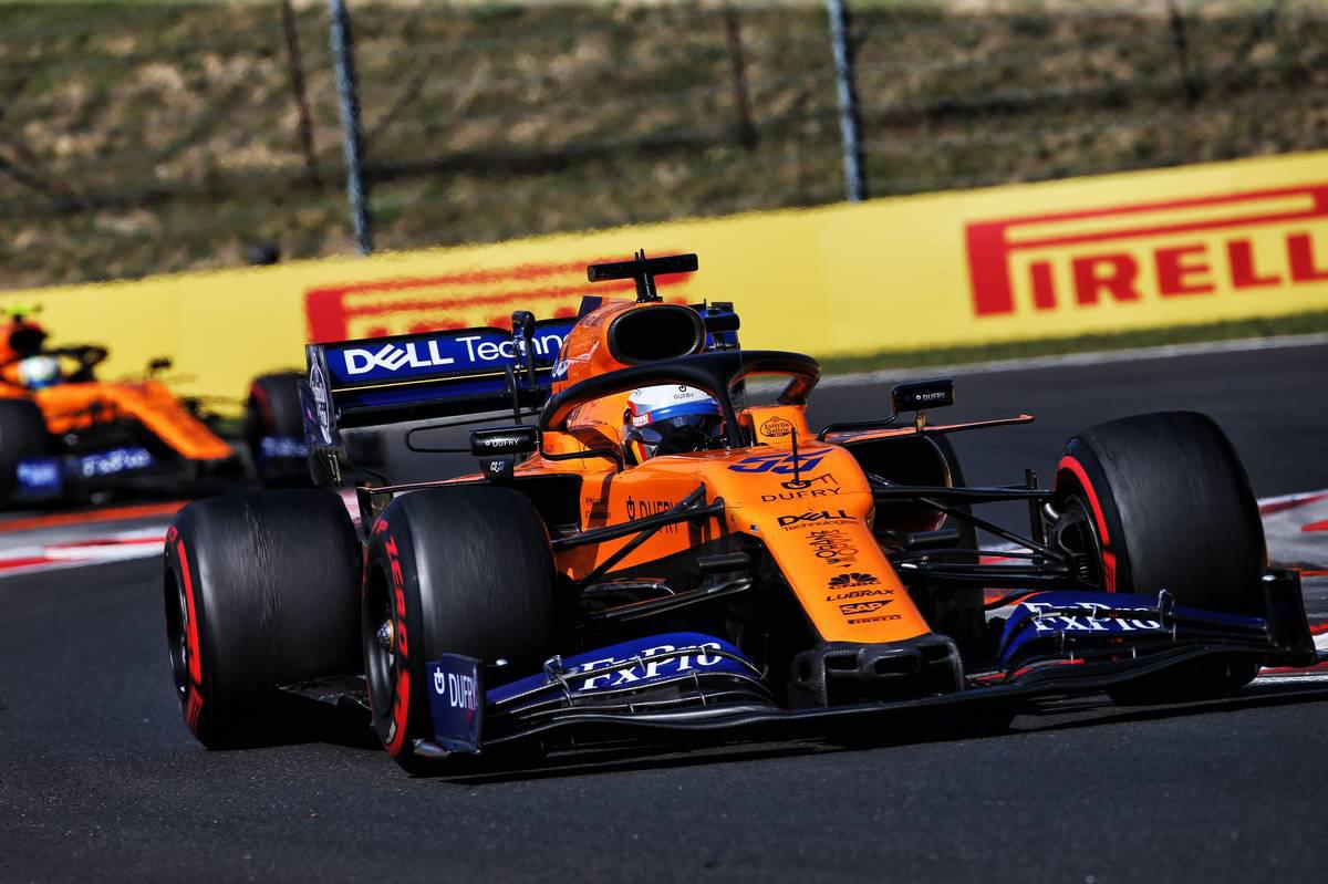 2019年F1第12戦ハンガリーGP カルロス・サインツJr.(マクラーレン)