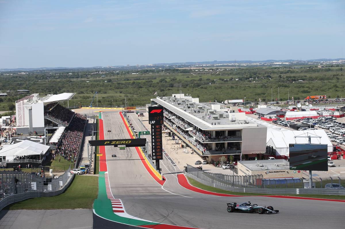 2018年F1第18戦アメリカGP ルイス・ハミルトン(メルセデス)