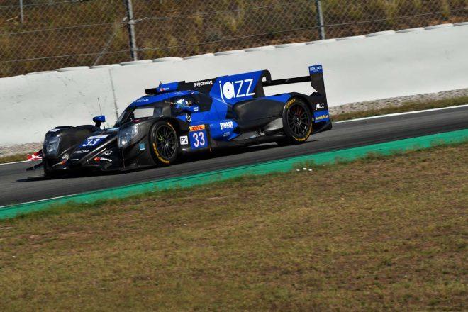 ハイクラス・レーシングの33号車オレカ07・ギブソン。マーク・パターソンのチームメイトは山下健太とアンドレス・フィヨルドバッハ