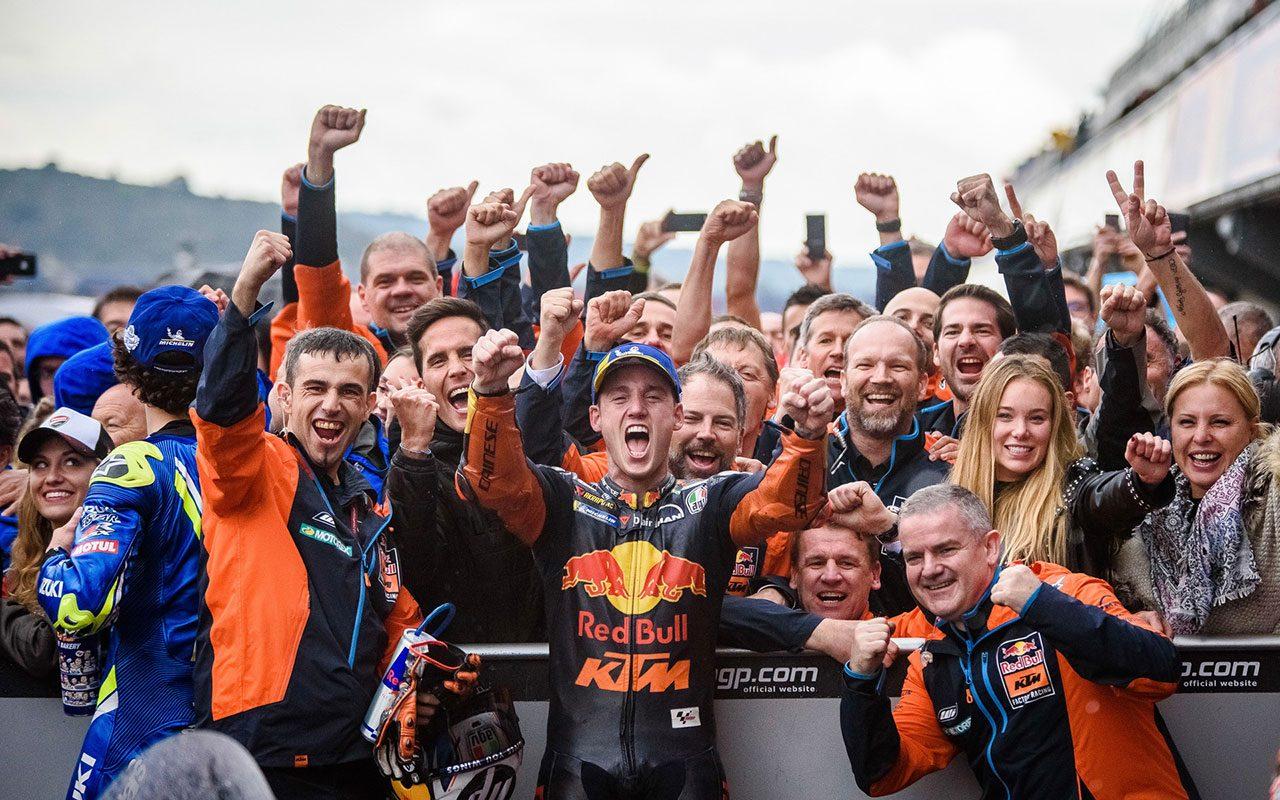 MotoGP:KTMが最高峰クラス参戦の契約を5年延長。Moto2クラスは撤退