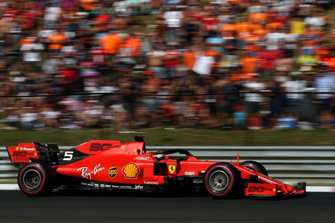 2019年F1ハンガリーGP セバスチャン・ベッテル(フェラーリ)