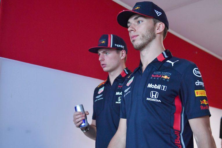F1 | ガスリー降格にフェルスタッペンがコメント「チームメイトが誰でも構わない。ふたりでできるだけ多く得点することが重要」