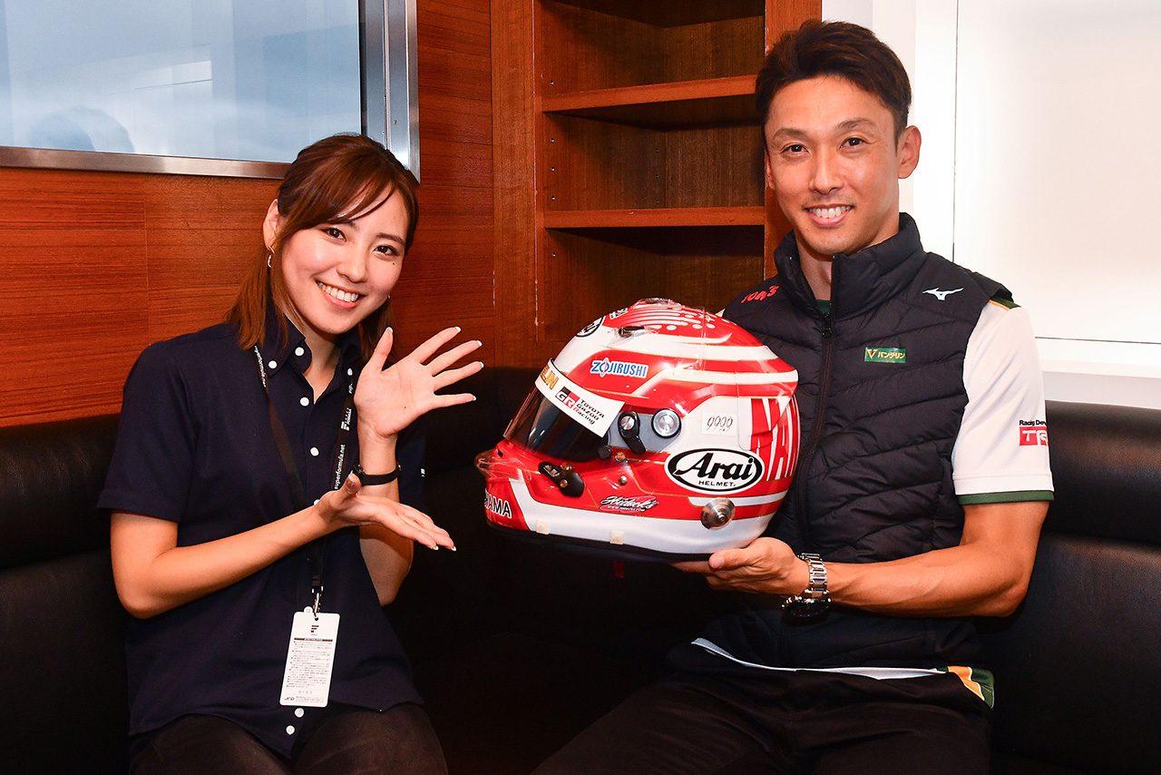 【ヘルメットはドライバーの顔:中嶋一貴】