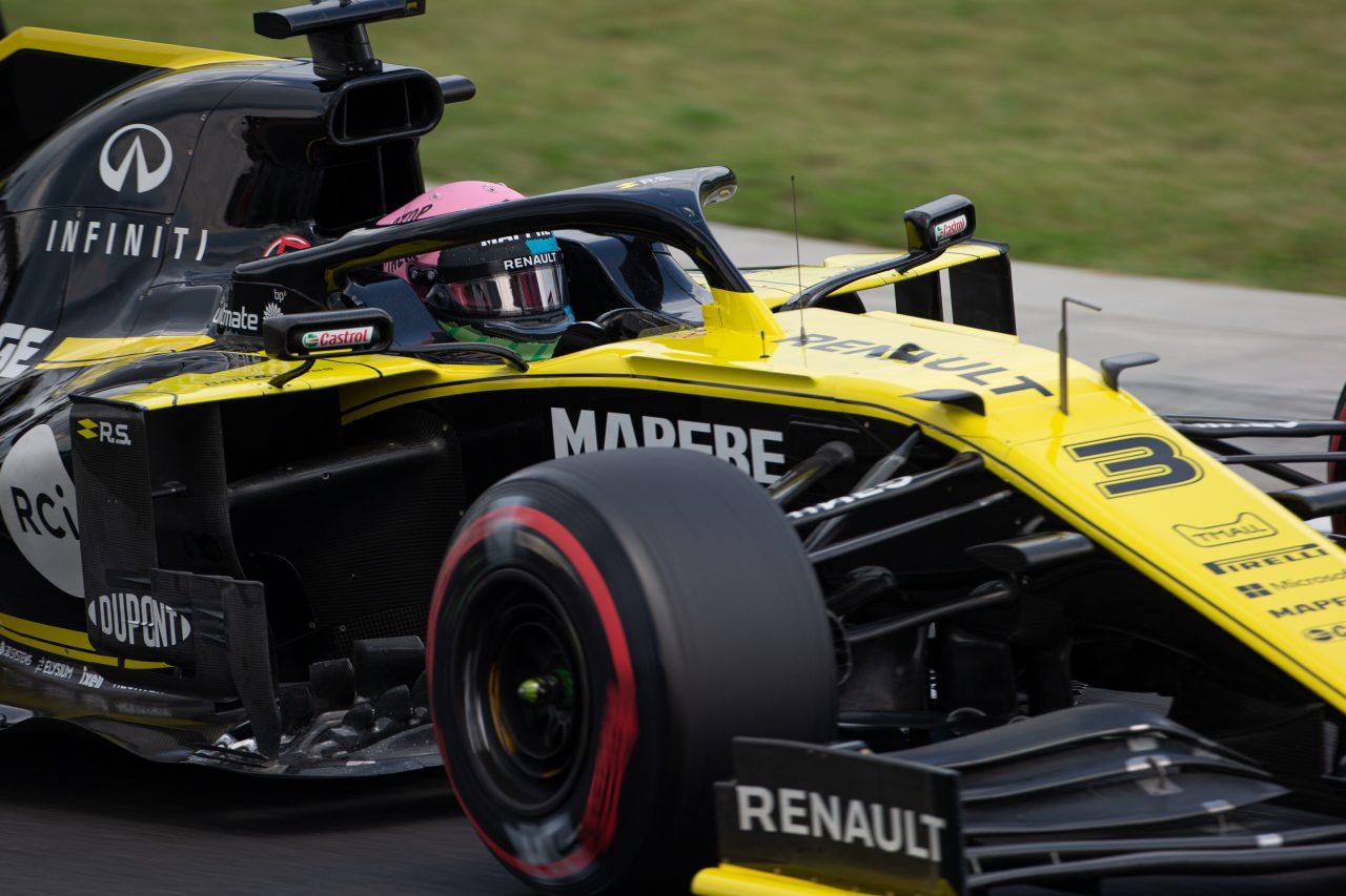 2019年F1ハンガリーGPでのリカルド