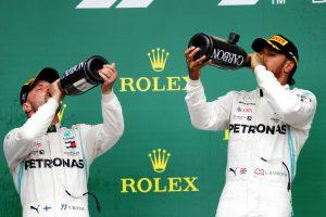 F1 | 2019年F1イギリスGP ルイス・ハミルトンとバルテリ・ボッタス(メルセデス)が1‐2を達成