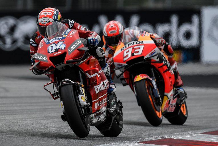 MotoGP | MotoGP:0.2秒差で決着したオーストリア。明暗分けたマルケスとドヴィツィオーゾのタイヤ選択