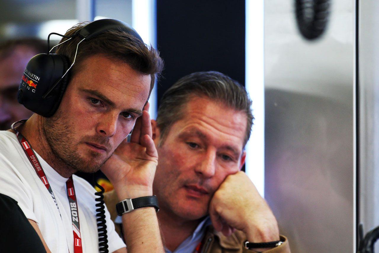 2018年F1オーストリアGP ギド・バン・デル・ガルデとヨス・フェルスタッペン