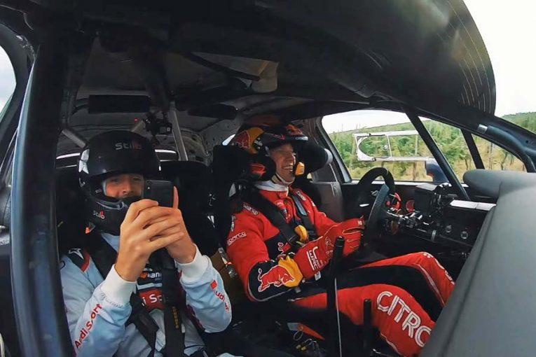 ラリー/WRC | 【動画】DTM覇者がWRCカーを体験。6連覇王者オジエのドライブでブドウ畑を疾走