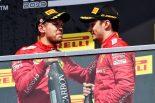 F1 | フェラーリF1代表「マシンに関してやるべきことは多いが、ドライバーふたりには大満足」