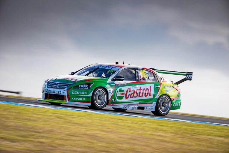 海外レース他 | オーストラリア・スーパーカー戦うニッサン、エアロテストを完了。「100以上のセットを試した」
