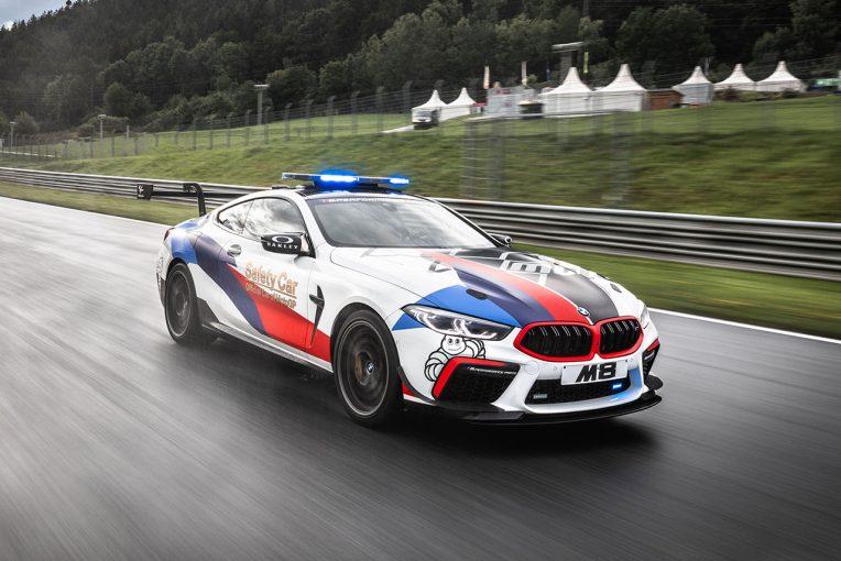 MotoGP | MotoGP:BMW Mの最新モデル『M8コンペティション』ベースの新型セーフティカーお披露目