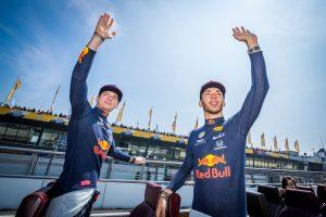 F1 | マックス・フェルスタッペンとピエール・ガスリー(レッドブル・ホンダ)