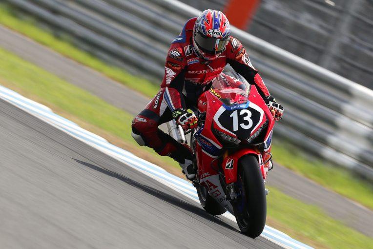 MotoGP   負傷かかえるホンダ高橋巧が5連続ポール。水野が3番手でJSB1000初フロントロウ/全日本ロード第5戦