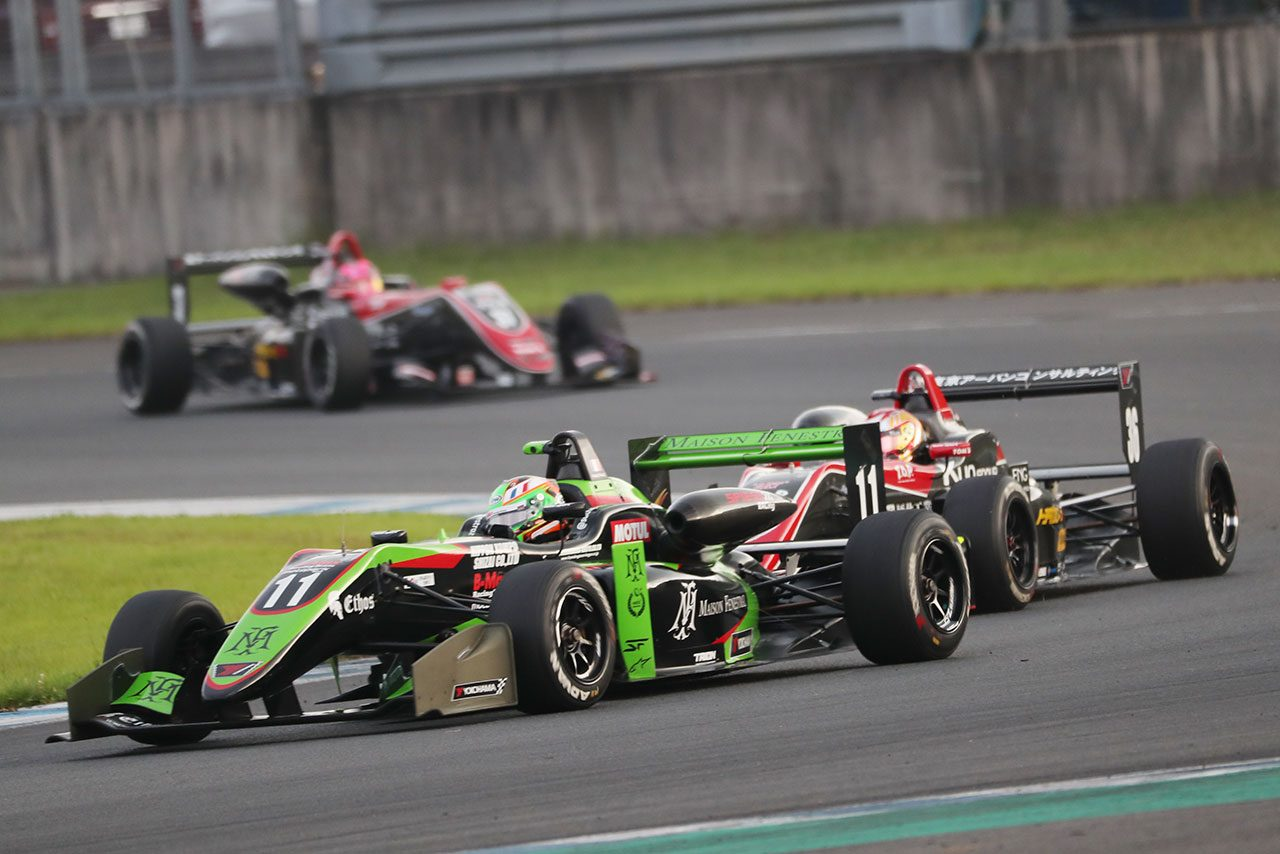 全日本F3選手権第16戦もてぎ:フェネストラズが今季7勝目でタイトル獲得目前に