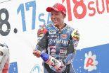 MotoGP | ヤマハ中須賀、水野に「最後までついてこられたら負けだと思った」/全日本ロード第5戦決勝会見