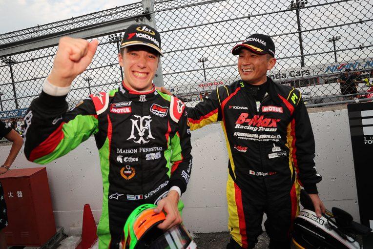 国内レース他   全日本F3選手権第18戦もてぎ:ポール・トゥ・ウインでフェネストラズが8勝目。全日本F3最後のチャンピオンに輝く