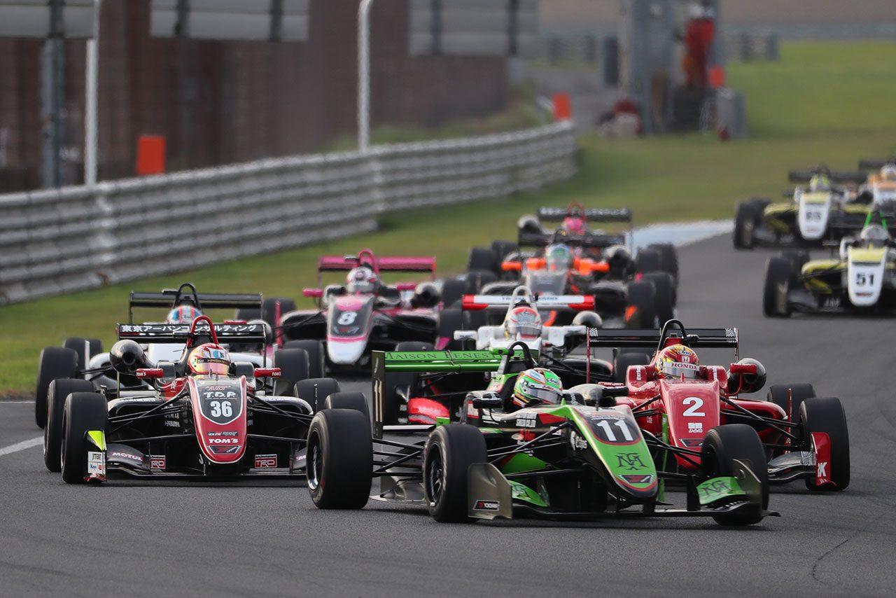 全日本F3選手権第18戦もてぎ:ポール・トゥ・ウインでフェネストラズが8勝目。全日本F3最後のチャンピオンに輝く