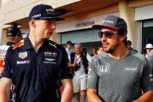 F1 | 2017年F1バーレーンGP マックス・フェルスタッペン(レッドブル)とフェルナンド・アロンソ(マクラーレン)