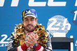 2019年ル・マン24時間レースで優勝したフェルナンド・アロンソ