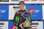 全日本F3選手権の2019年のチャンピオンを獲得したサッシャ・フェネストラズ(B-Max Racing with motopark F3)