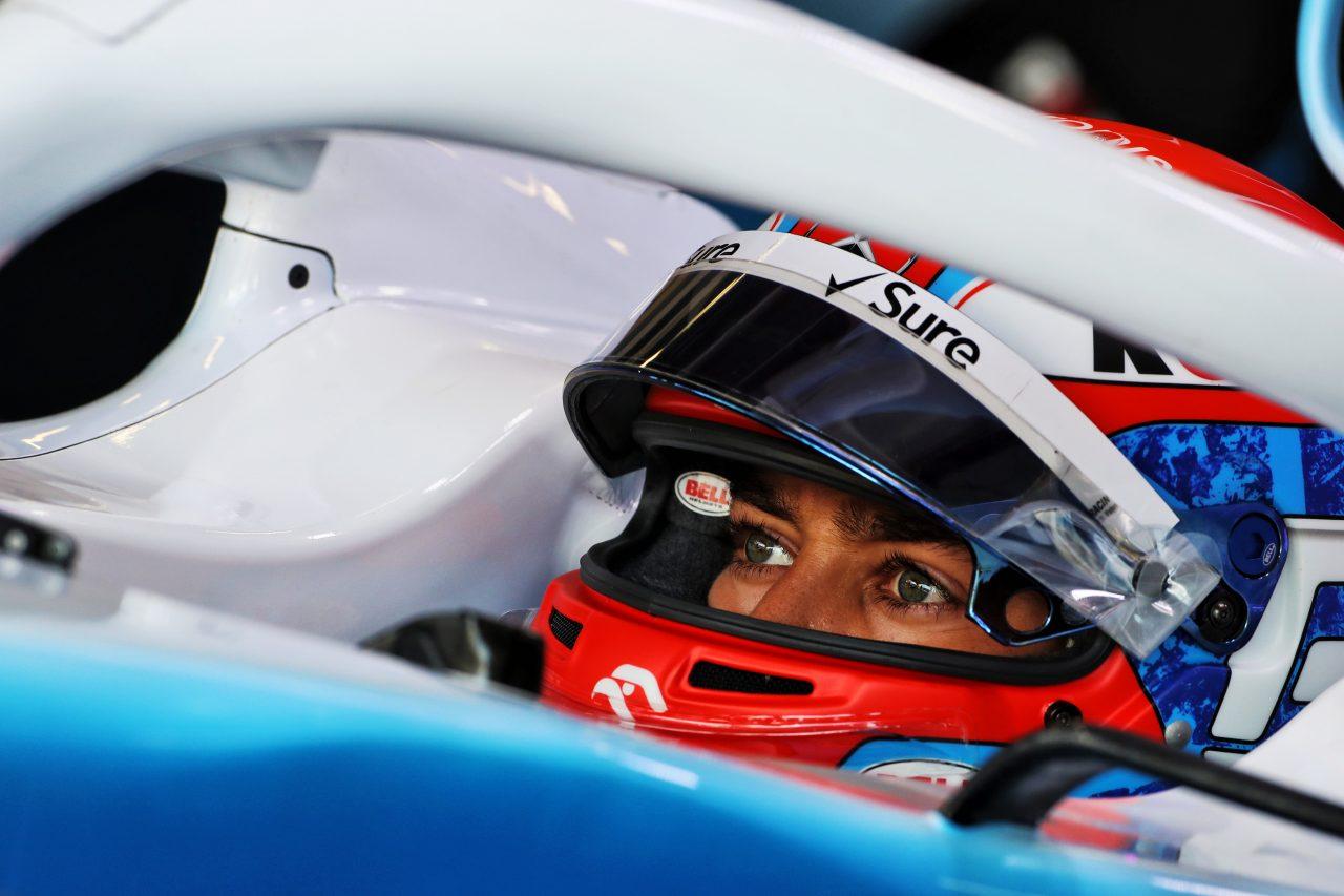 2019年F1イギリスGPでのラッセル