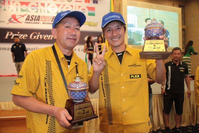 ラリー/WRC | タイ~ミャンマー開催の『サン・クロレラ アジアクロスカントリーラリー2019』、D1王者川畑真人がクラス2位