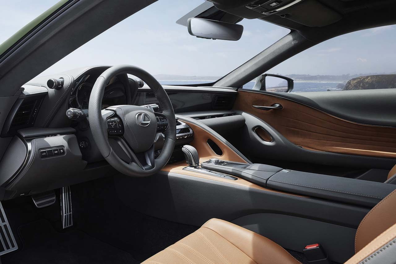"""新カラーイメージは""""海苔""""。『レクサスLC500』特別モデルが北米で100台限定発売へ"""