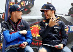 F1 | ダニール・クビアトとピエール・ガスリー