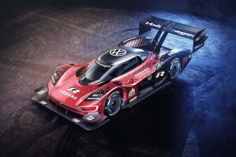 海外レース他 | EVプロトタイプの『フォルクスワーゲンID.R』、中国でのアタックに向けた新カラーを披露